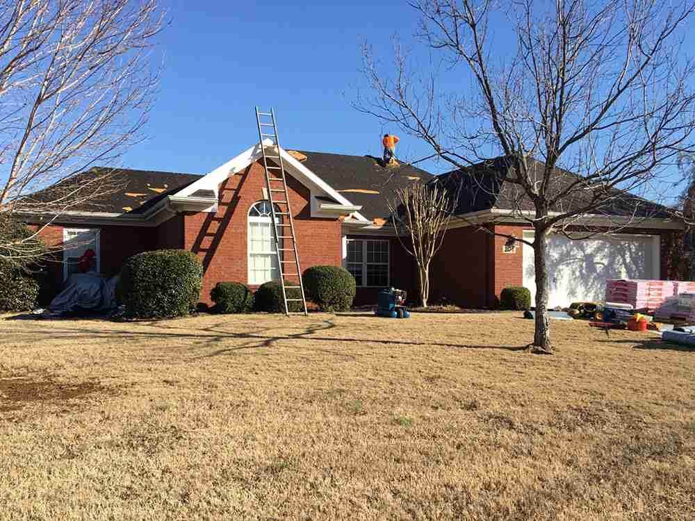 Image of a roof repair job by 2nd2None Roofing in Huntsville, AL