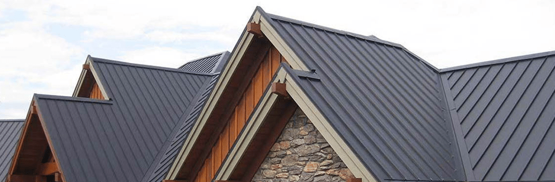 Image of a Metal Roof newly installed